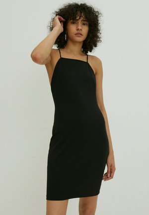 RACHEL - Shift dress - schwarz