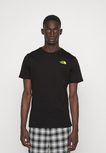 THREEYAMA TEE  - Print T-shirt - black