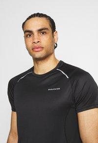 Endurance - LASSE TEE - T-shirt imprimé - black - 3