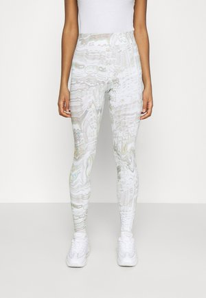 Leggings - Hosen - white
