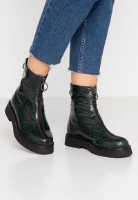 MJUS - Platform ankle boots - lichene - 0