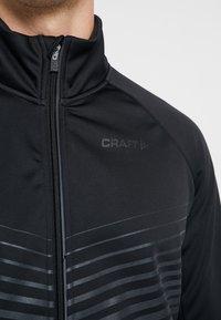Craft - IDEAL - Chaqueta softshell - black - 3