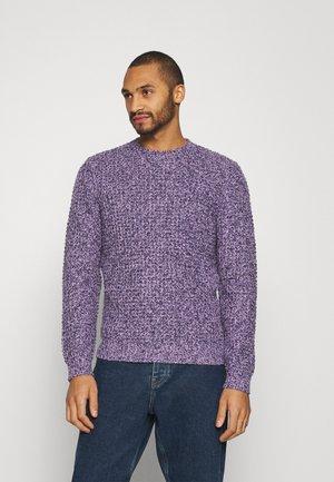 UNISEX - Stickad tröja - mottled lilac