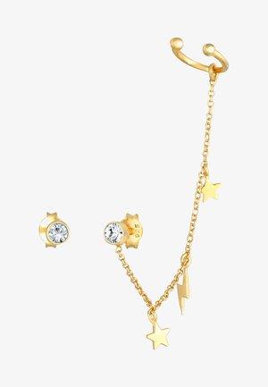 GLASS CRYSTAL - Örhänge - gold