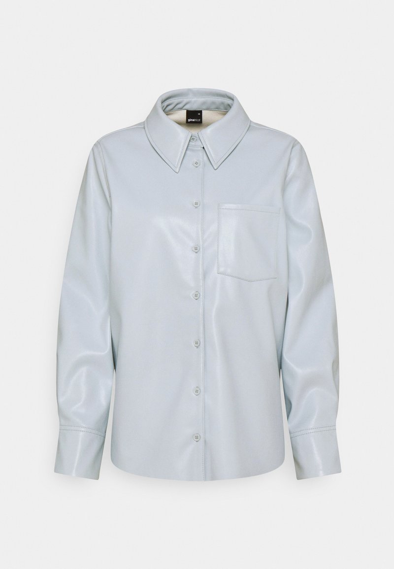 Gina Tricot - ALICE SHIRT - Button-down blouse - skyway