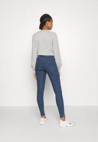 ONLY - ONLRAIN LIFE - Jeans Skinny Fit - dark blue denim - 2
