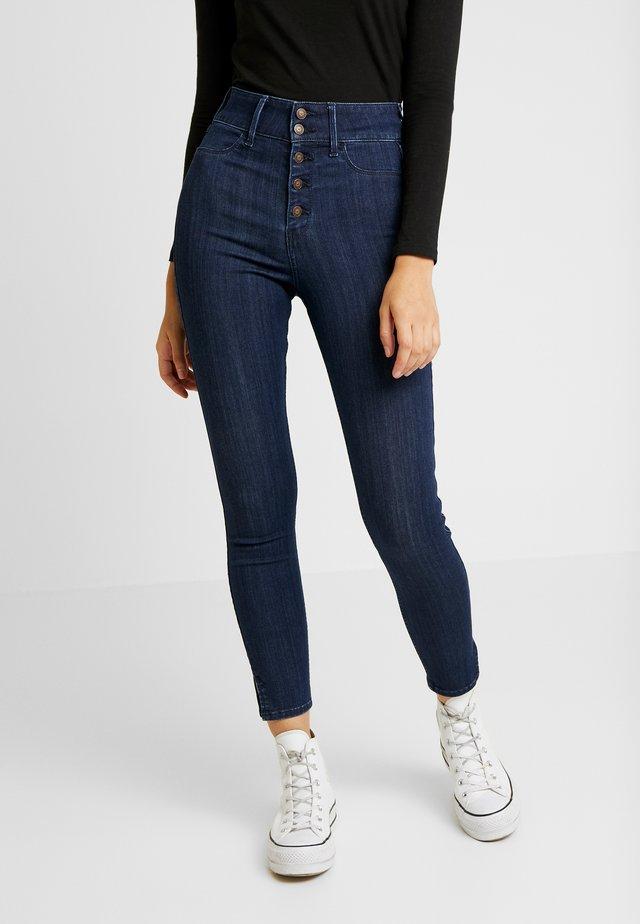 RINSE SHANK - Jeans Skinny Fit - dark-blue denim