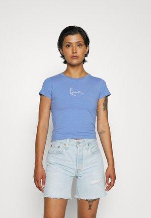 SIGNATURE - Print T-shirt - blue