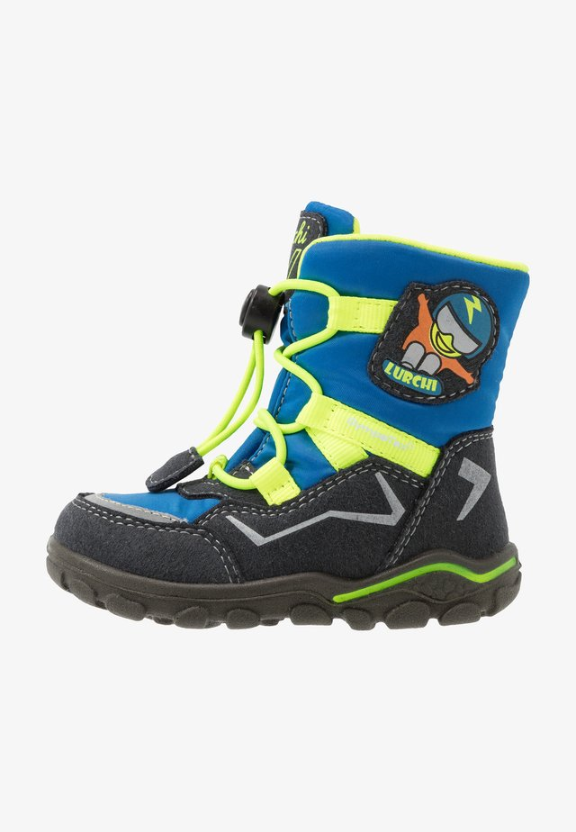 KERO SYMPATEX - Snowboot/Winterstiefel - atlantic yellow