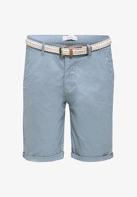 Esprit - MIT GÜRTEL - Shorts - grey blue - 6