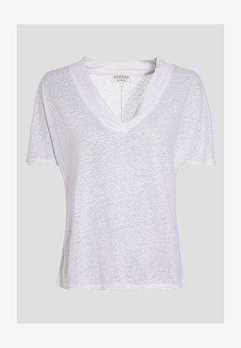 BONOBO  - T-shirt con stampa - ecru