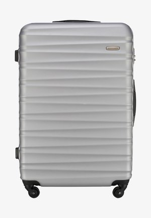 GROOVE LINE - Wheeled suitcase - gray