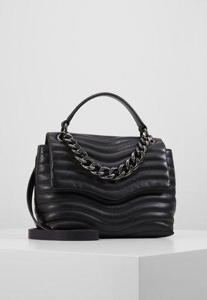 MAB QUILT TOP HANDLE SATCHEL - Handbag - black