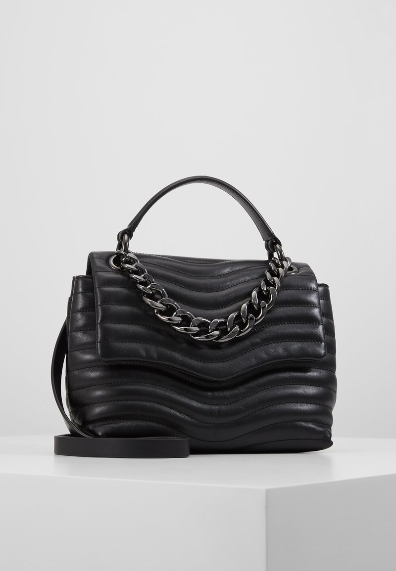 Rebecca Minkoff - MAB QUILT TOP HANDLE SATCHEL - Sac à main - black