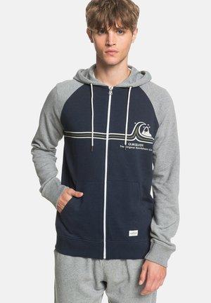 ESSSCREENZIPTER - Zip-up sweatshirt - navy blazer