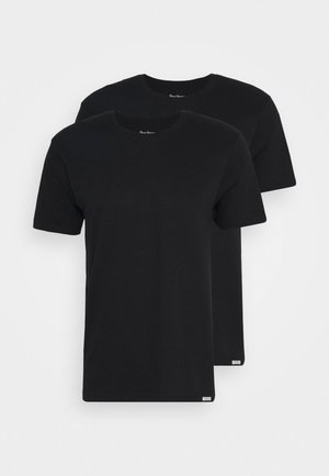 ROCCO 2 PACK - Undershirt - black