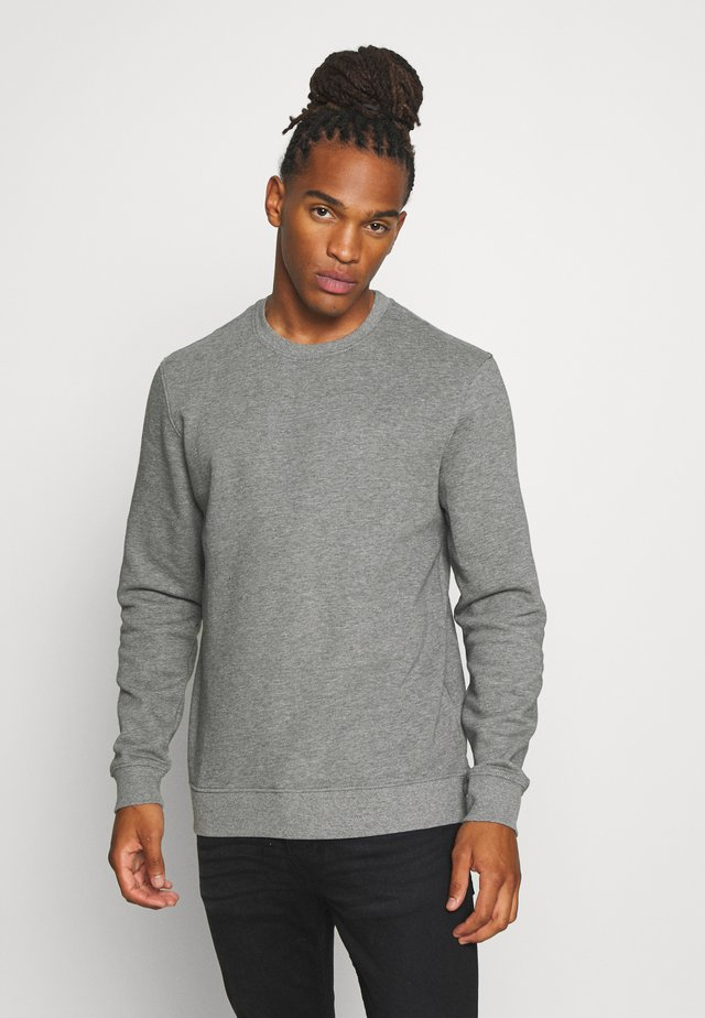 ONSVINCENT CREW NECK - Collegepaita - medium grey melange