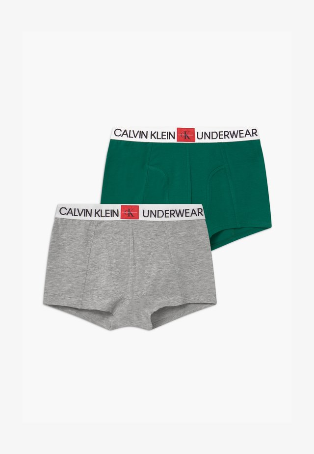 2 PACK - Pants - green