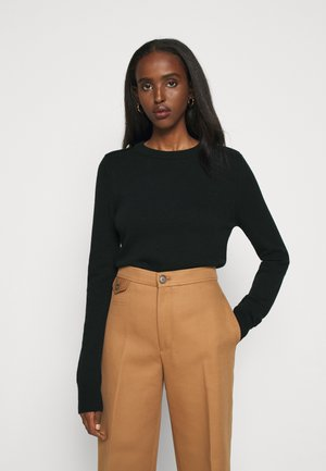 NANCIE CREW NECK JUMPER - Jumper - dark green