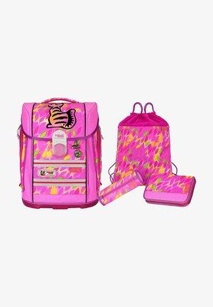 SET  - Schooltas set - neon pink