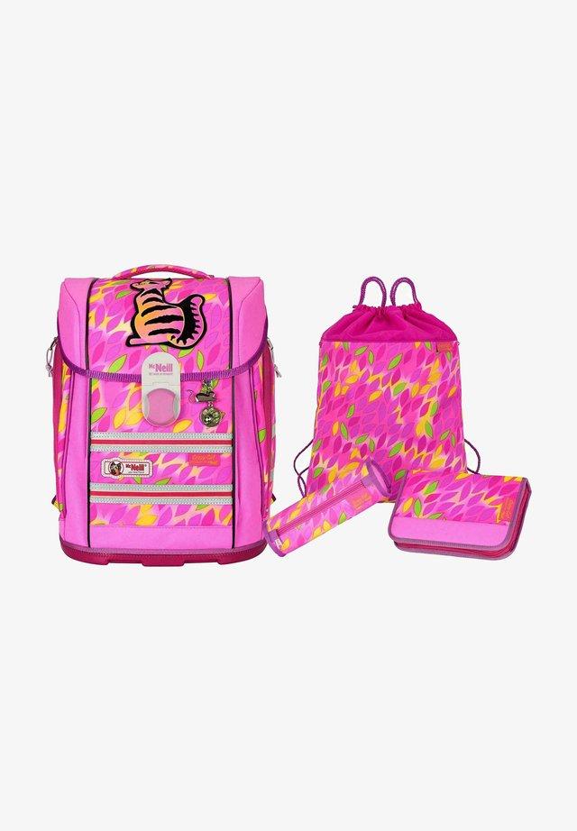 SET  - Set zainetto - neon pink