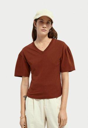T-shirt basic - sienna