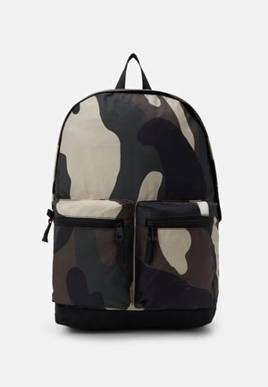 PETE BACKPACK - Mochila - multicolor/olive