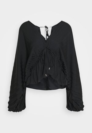 ELOUISE BLOUSE - Long sleeved top - black