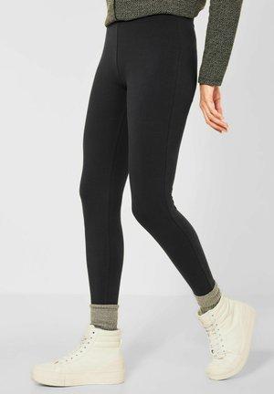 Leggings - Trousers - grau