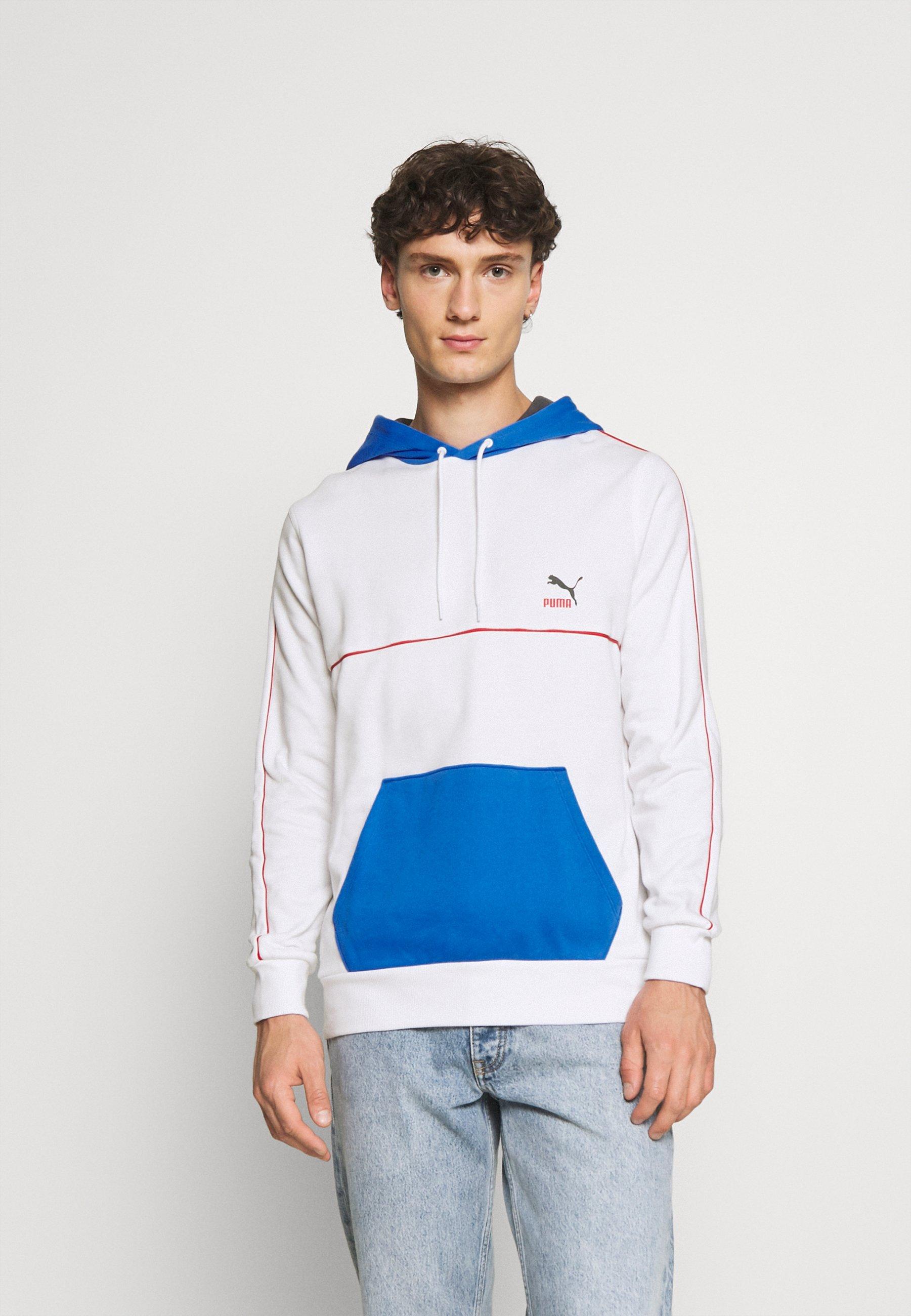 Herren PIPED HOODIE - Sweatshirt