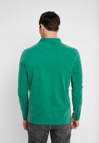 Marc O'Polo - LONG SLEEVE - Polo shirt - verdant green - 2