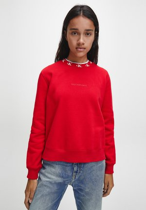 Sweatshirt - red hot