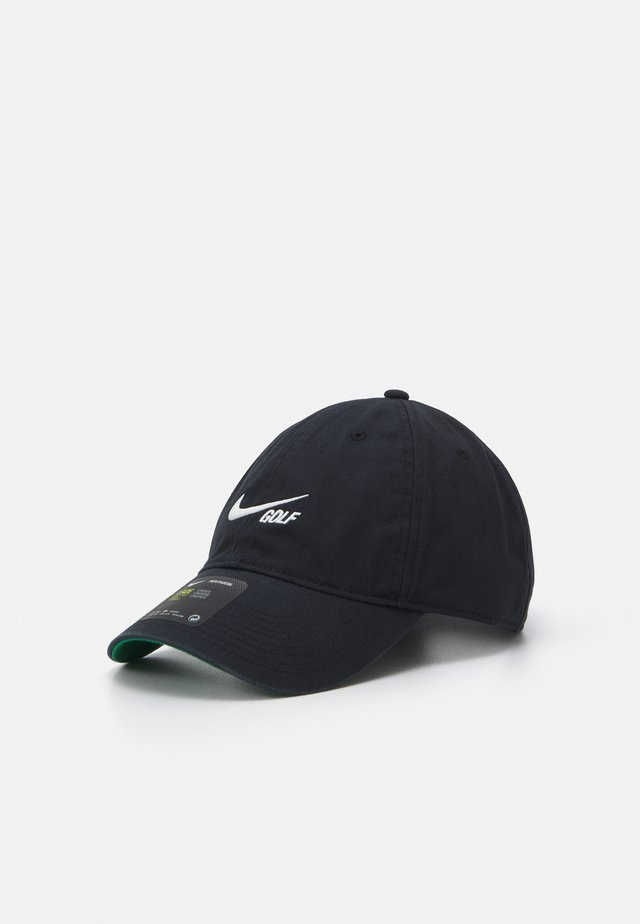 WASHED SOLID - Cap - black/anthracite/sail
