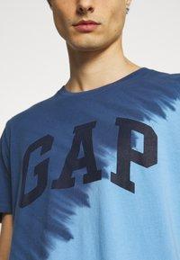 GAP - LOGO - Print T-shirt - blue - 5