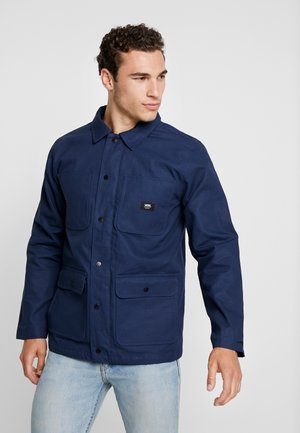 DRILL CHORE COAT LINED - Summer jacket - dress blues