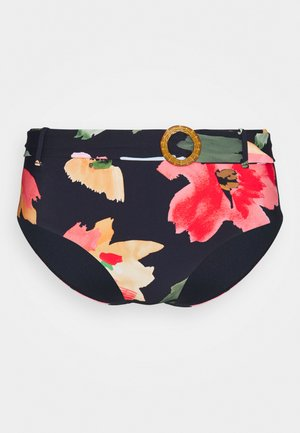 SUMMER MEMOIRS WIDE SIDE RETRO - Bikini bottoms - indigo