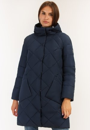 Winter coat - cosmic blue