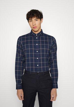 ANTON CHECKED SHIRT - Formal shirt - navy