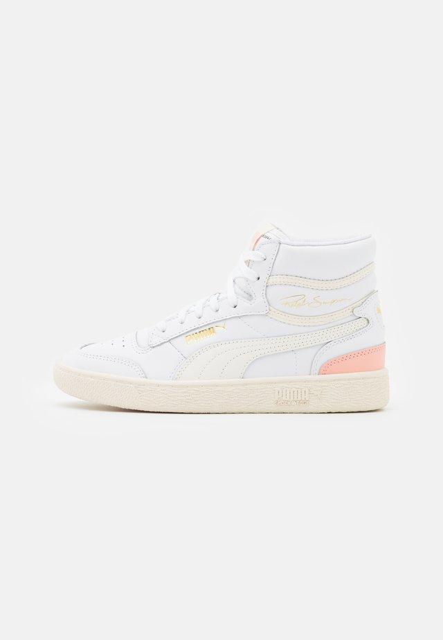 RALPH SAMPSON MID  - Sneakers hoog - white/marshmallow/apricot blush