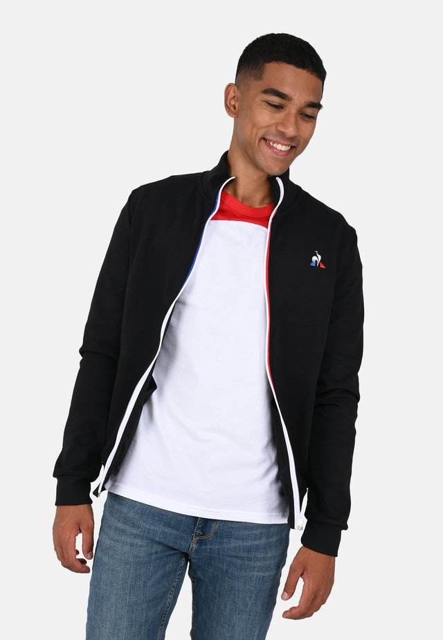 ESS - veste en sweat zippée - black
