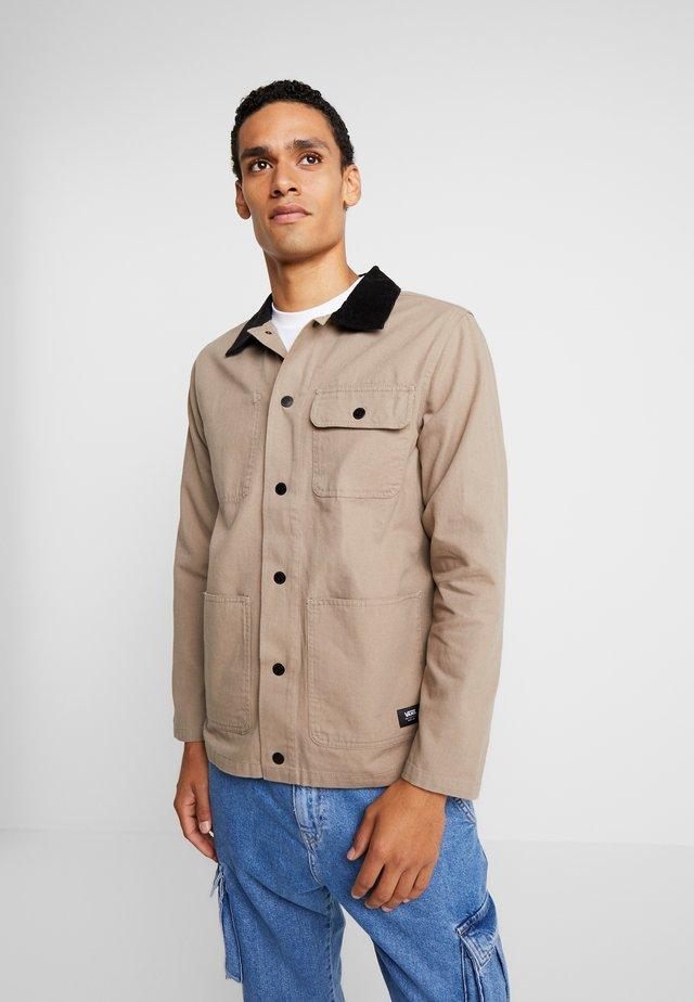 MN DRILL CHORE COAT - Summer jacket - military khaki