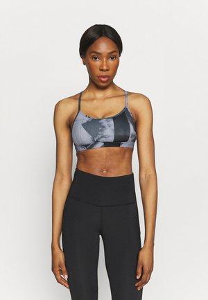 SKINNY BRA FLAT ON BACK - Medium support sports bra - black