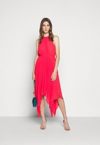 MICHAEL Michael Kors - PLEATED HALTER DRESS - Společenské šaty - geranium - 1