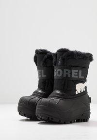 Sorel - CHILDRENS - Zimní obuv - black/charcoal - 3