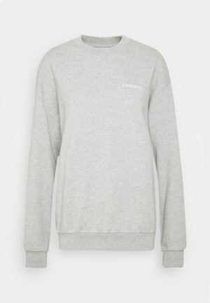 TYPEFACE  - Sweatshirt - grey heather/white