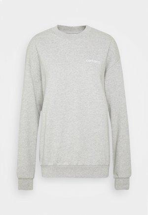 TYPEFACE  - Sudadera - grey heather/white
