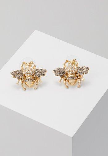 BEE - Øredobber - gold-coloured