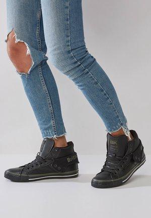 ROCO - Tenisky - black/khaki/black