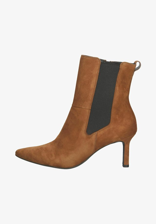 Korte laarzen - braun