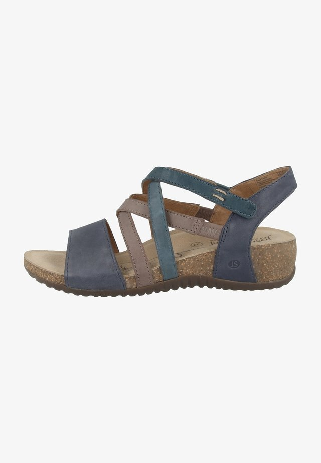 Sandaler - dark blue multi (78810-192-507)